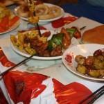 Eten op het Djema el Fna plein