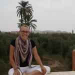 Marrakech achtergrond