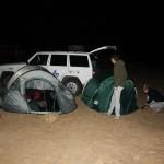 De eerste keer kamperen