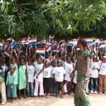 Ontvangst Kingstom Nursery school