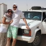 Rich en Eef klaar voor de Sahara