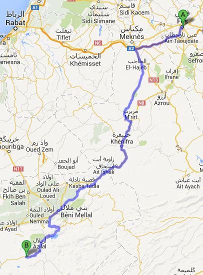 Route dag5
