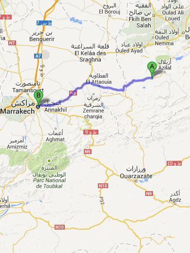Route dag6