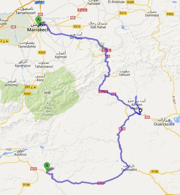 Route dag8