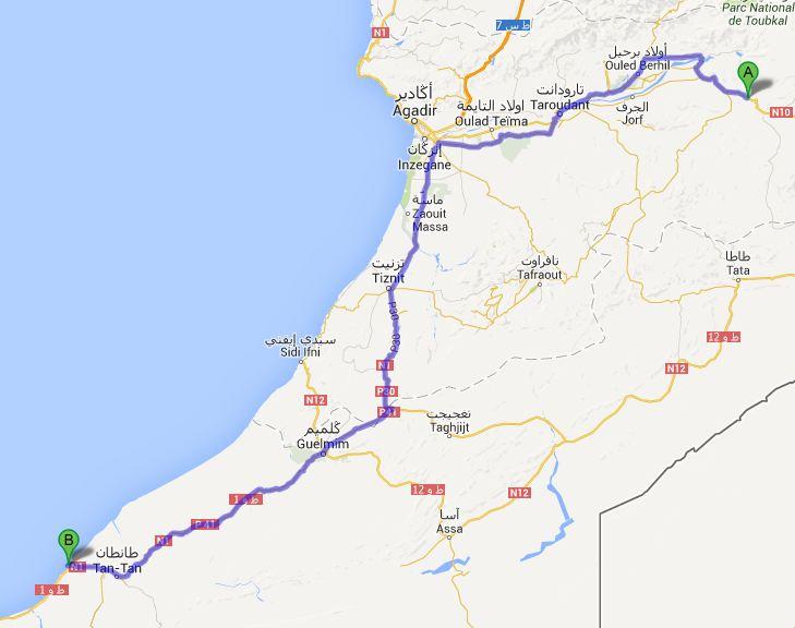 Route dag9